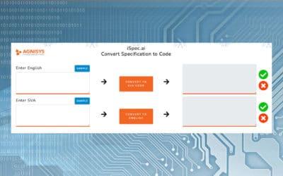 Automatically translate English description into SystemVerilog Assertions